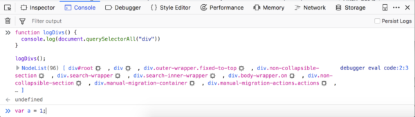 JavaScript in the DevTools console now has syntax highlighting to make it easier to read.