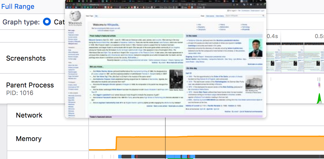 b7a553b857d501 The Firefox Profiler is showing a larger thumbnail when hovering the
